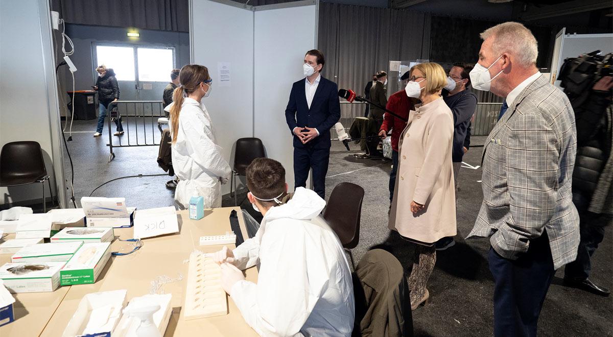 COVID-Tests in städtischen Teststandorten / Foto: Stadt Wiener Neustadt/Weller