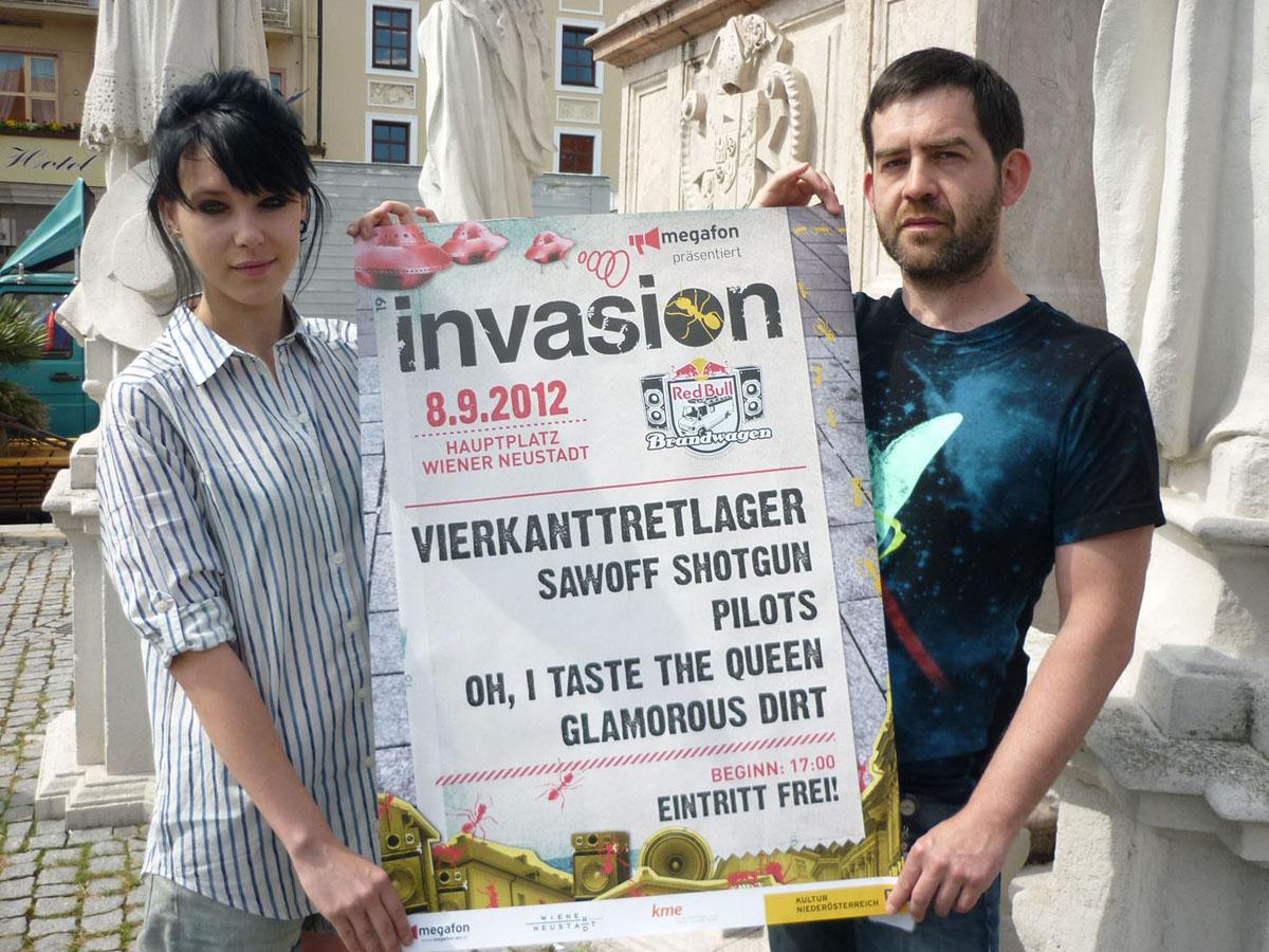 Invasion Festival 2012 am Hauptplatz / Foto: Stefan Kumnig