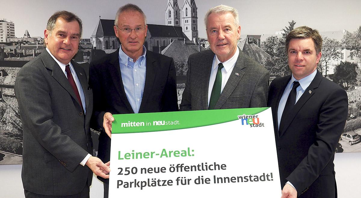 250 neue Parkplätze / Foto: Wiener Neustadt/Pürer