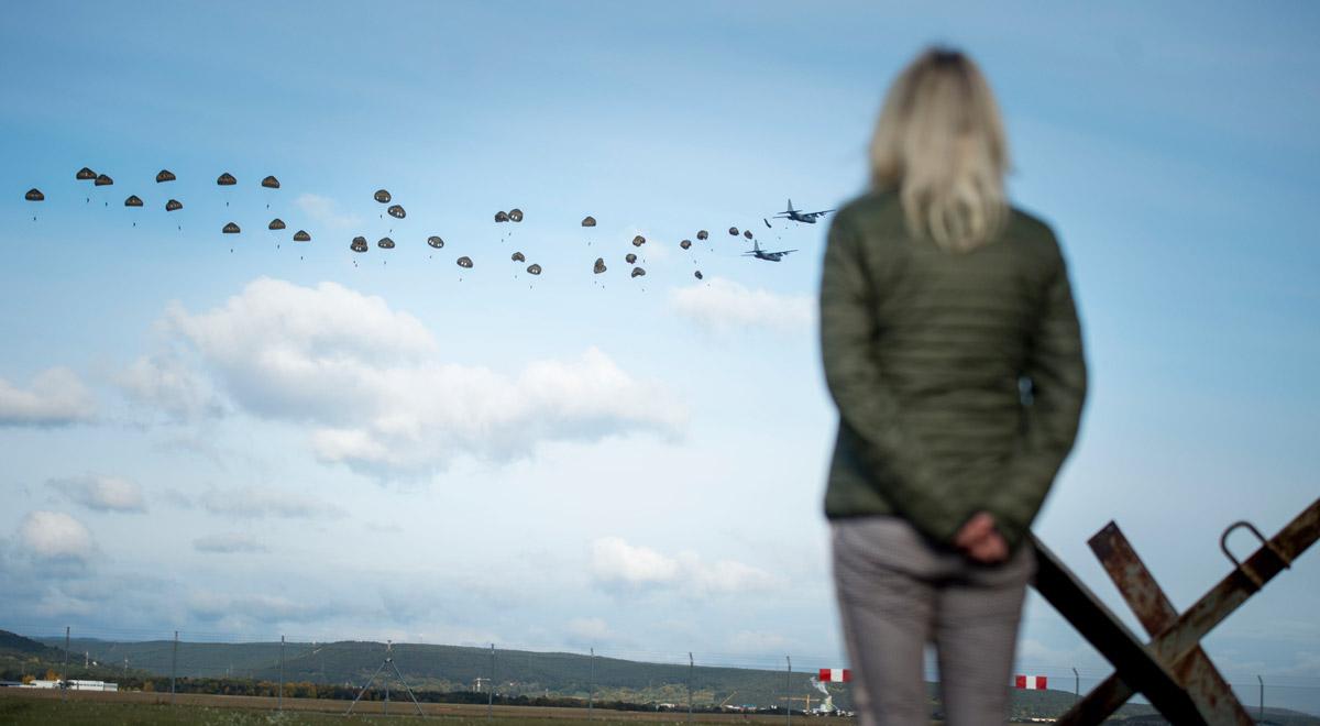 60 Jahre Militär-Fallschirmspringen / Foto: Carina Karlovits