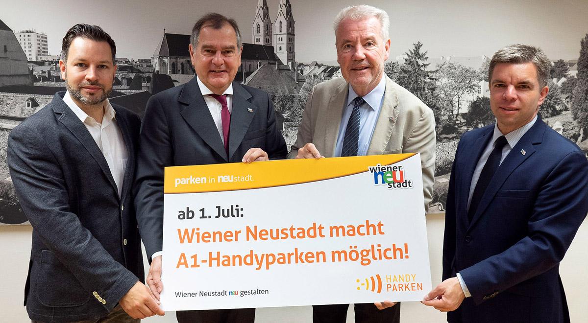 A1-Handyparken in Wiener Neustadt / Foto: Wiener Neustadt/Weller