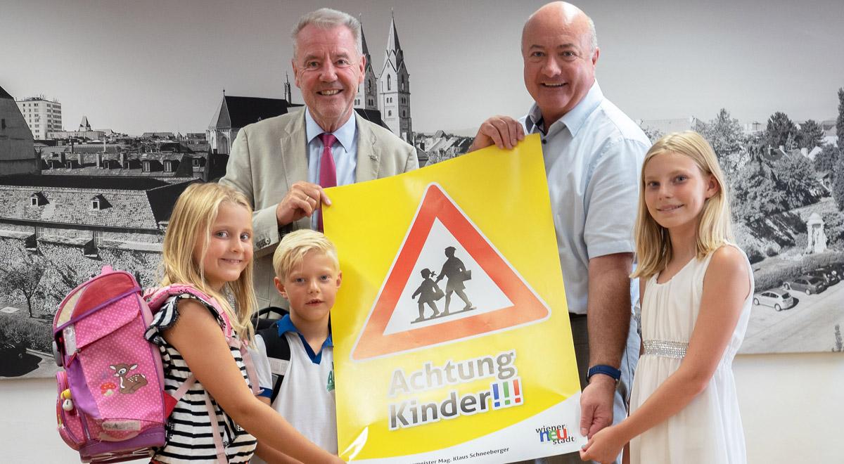 Achtung Kinder!!! / Foto: Wiener Neustadt/Pürer