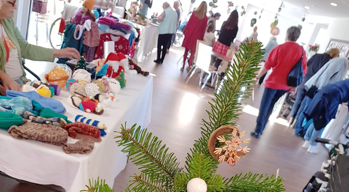 Adventmarkt im Pflegeheim / Foto: Marienhof