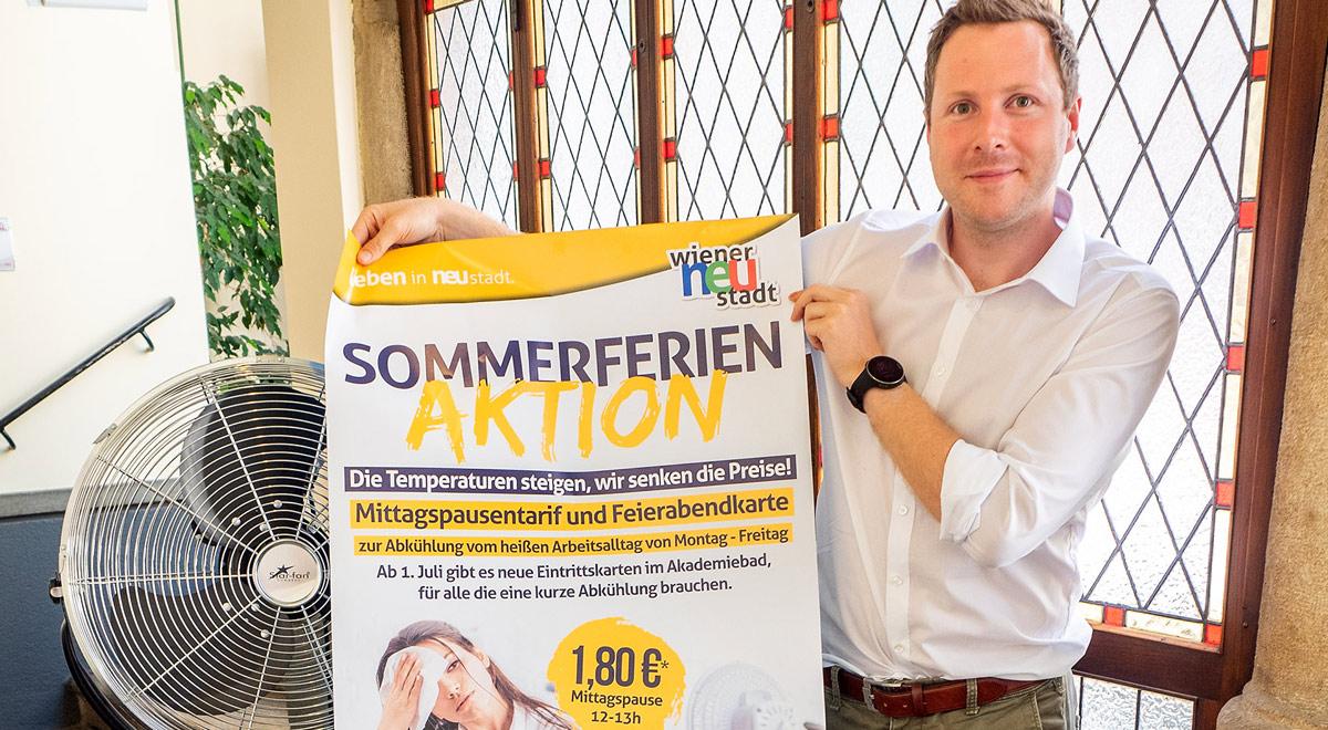 Sommerferien-Aktion / Foto: Stadt Wiener Neustadt/Pürer