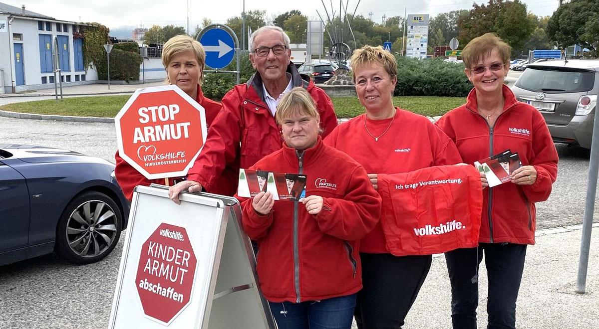 Aktion gegen Kinderarmut / Foto: Andreas Reither / Volkshilfe NÖ