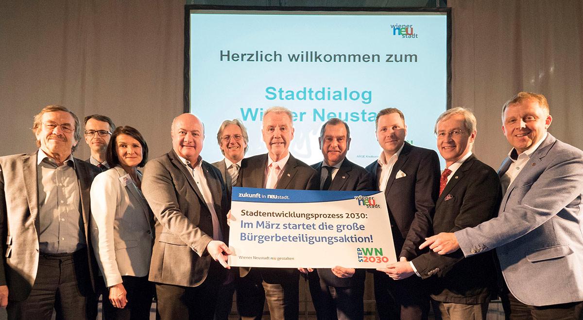 Bürgerbeteiligung STEP 2030 / Foto: Wiener Neustadt/Weller