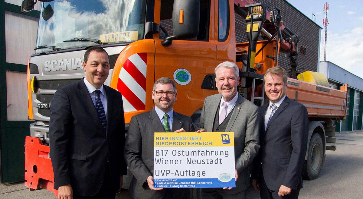 B17-Ostumfahrung / Foto: Wiener Neustadt/Weller