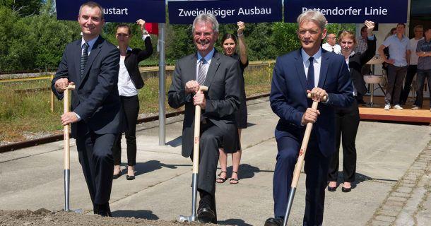 Foto: Ausbau Pottendorfer-Linie
