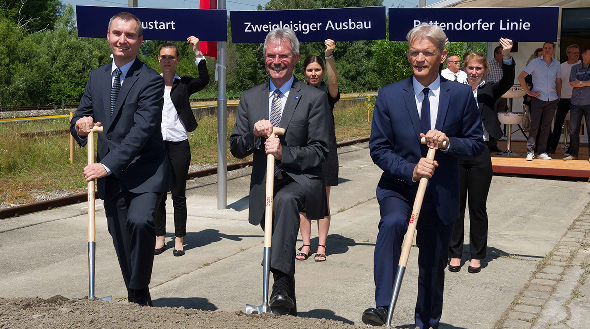 Ausbau Pottendorfer-Linie / Foto: ÖBB / Zenger