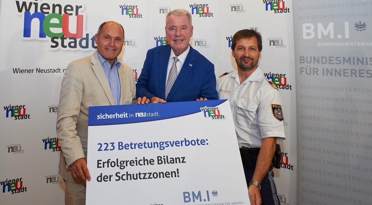 Betretungsverbote Bilanz / Foto: BMI/Karl Schober