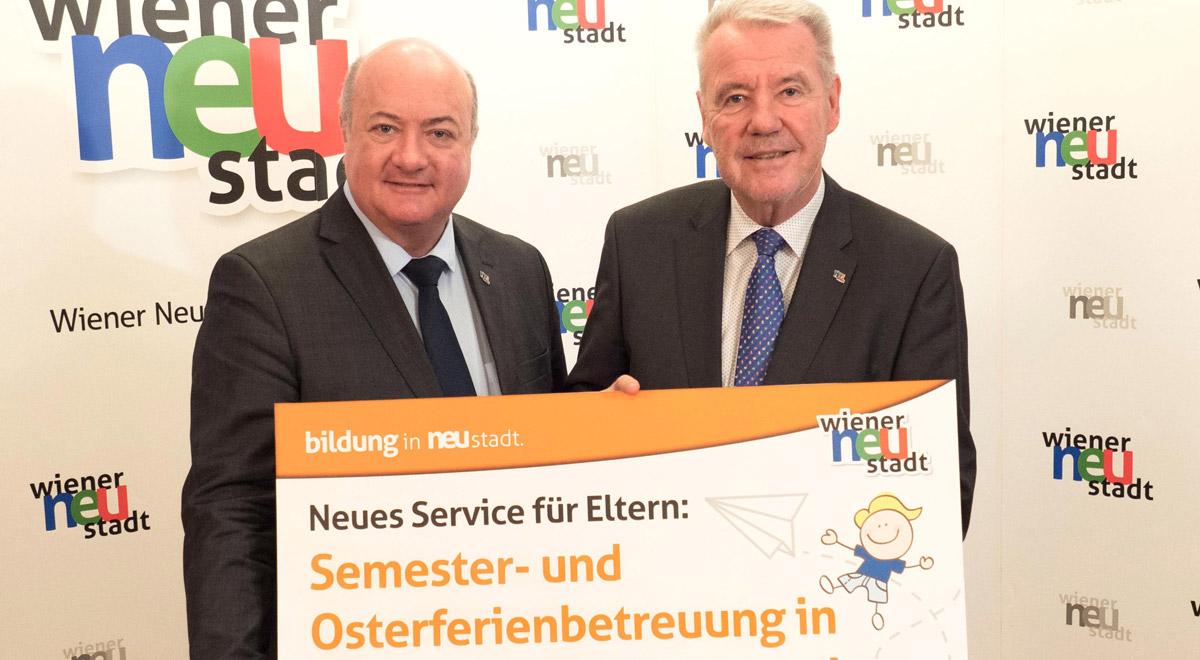 Betreuung Semester- und Osterferien / Foto: Wiener Neustadt/Weller