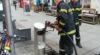 Brand Müllbehälter / Foto: Presseteam d. FF Wr. Neustadt