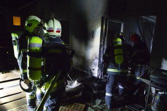 Brand auf Terrasse / Foto: Presseteam d. FF Wr. Neustadt