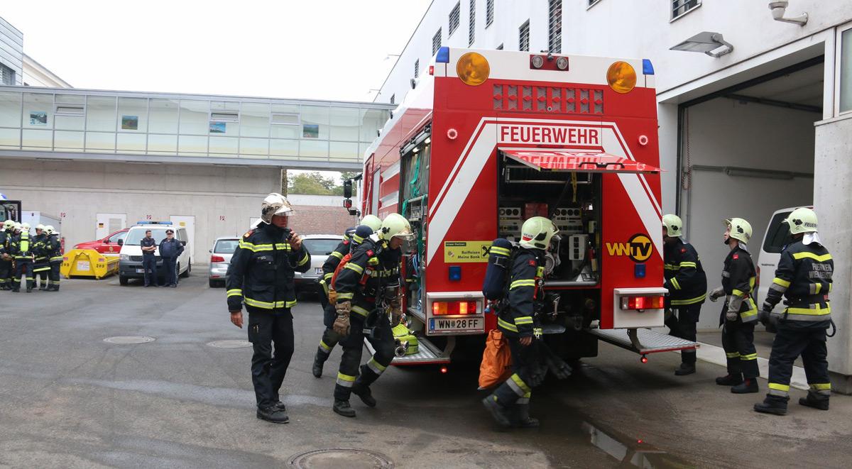 Brandschutzübung Justizanstalt / Foto: Presseteam Feuerwehr WN