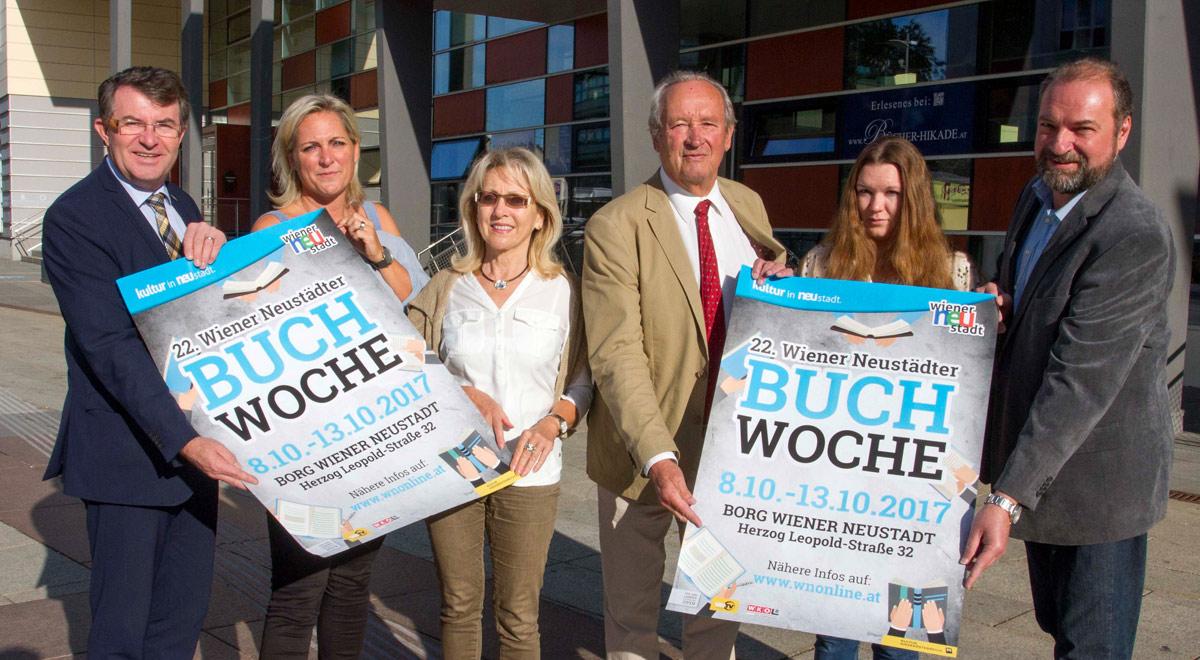 Wiener Neustädter Buchwoche 2017 / Foto: Wiener Neustadt/Weller