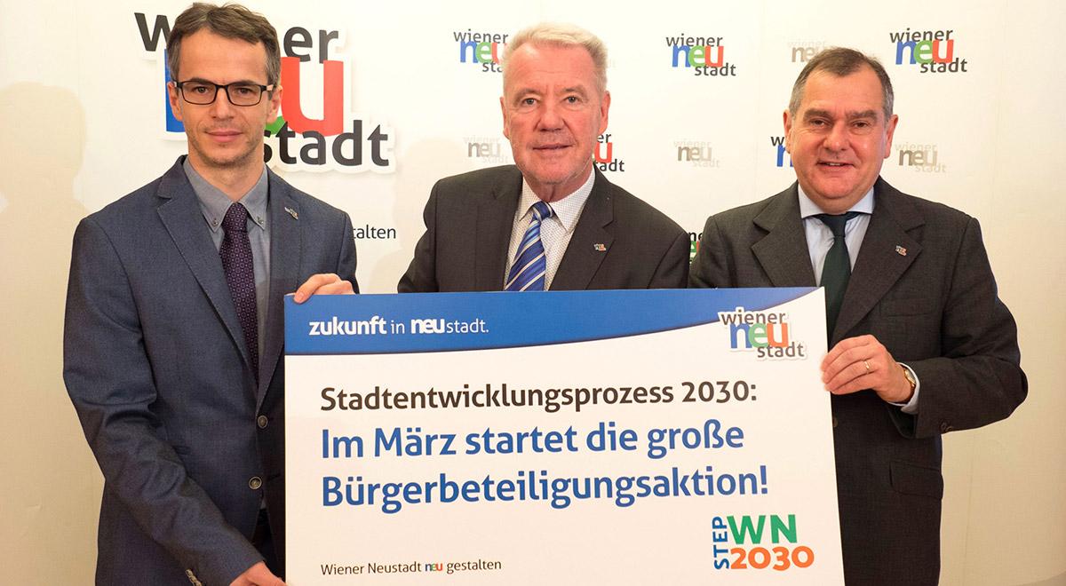 Bürgerbeteiligung STEP 2030 / Foto: Wiener Neustadt/Welle