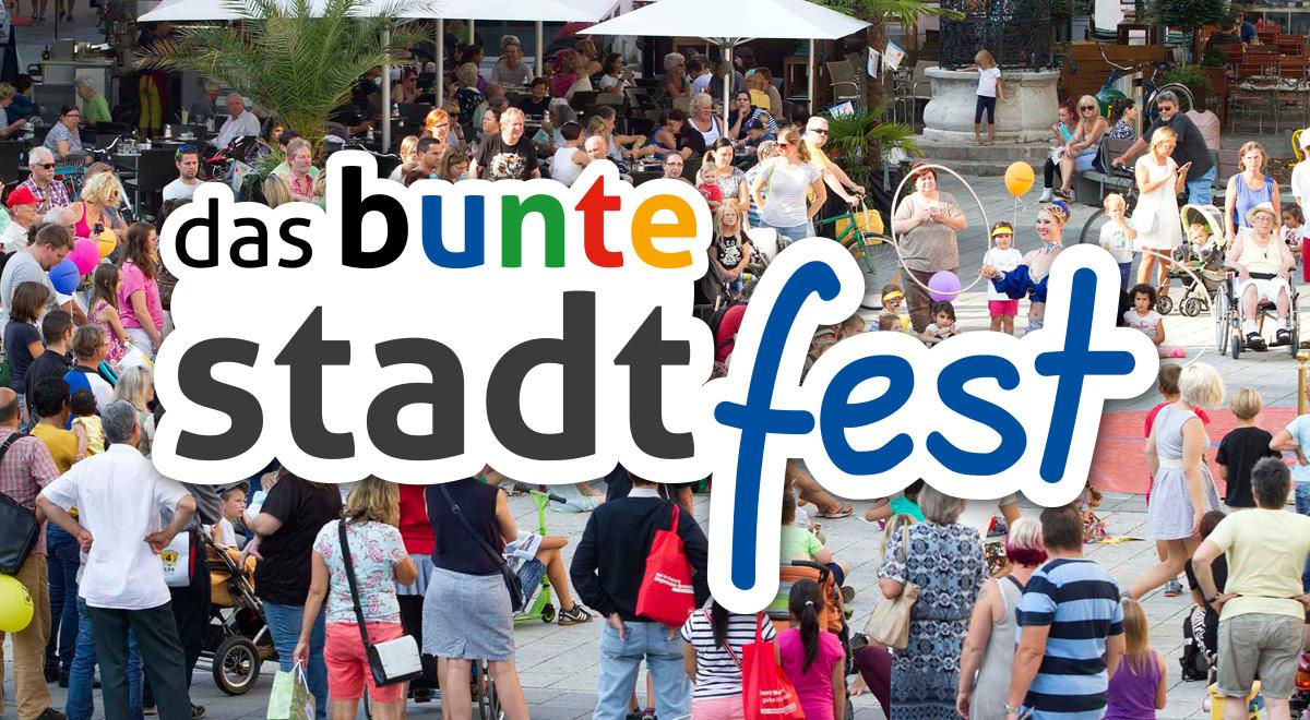Das Bunte Stadtfest 2019 / Foto: Wiener Neustadt/Weller