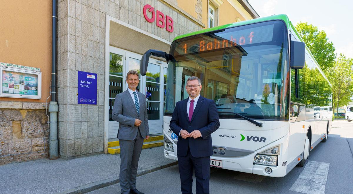 Neue Busflotte / Foto: VOR / Josef Bollwein