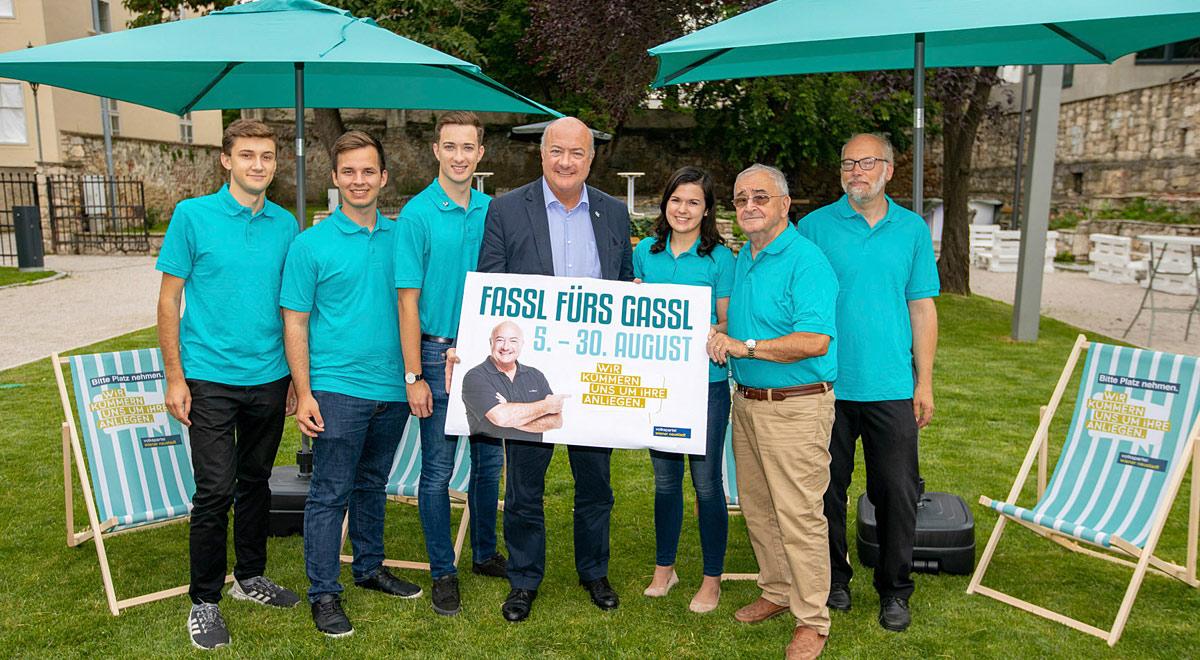 Fassl fürs Gassl 2019 / Foto: Harald Wrede