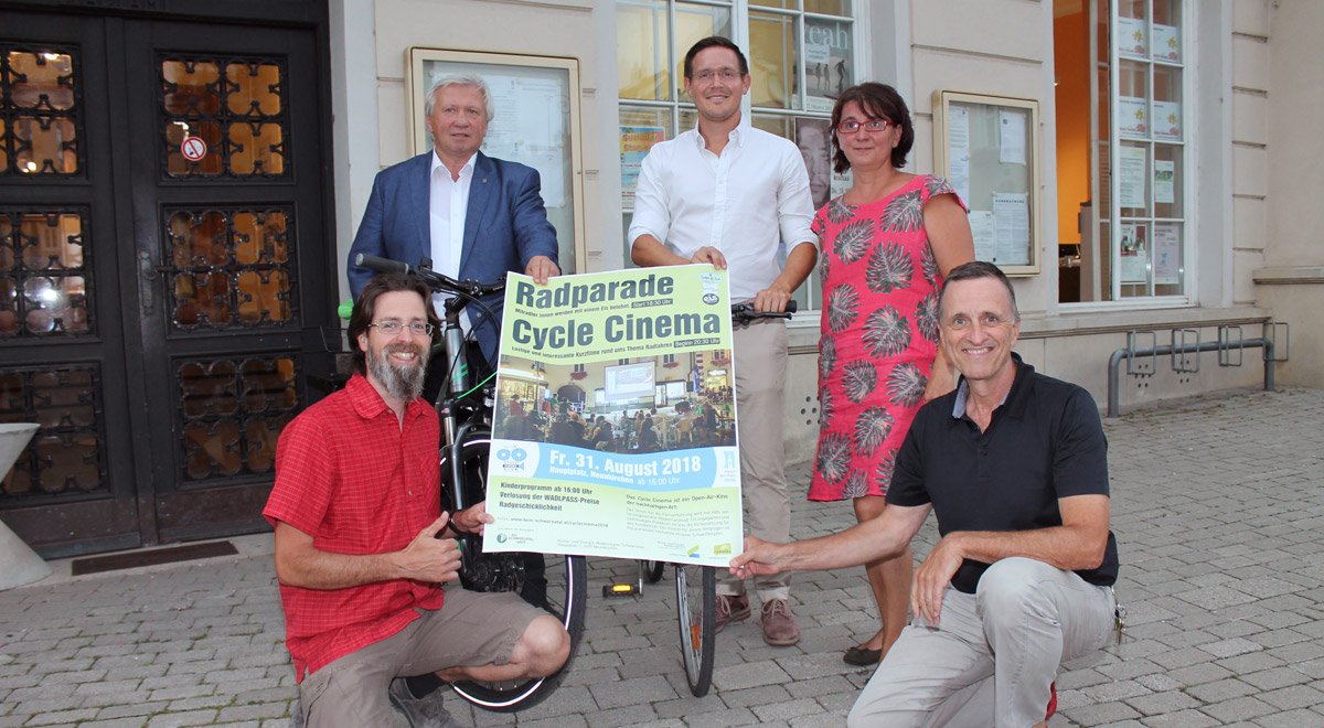 Cycle Cinema 2018 / Foto: Stadtgemeinde Neunkirchen