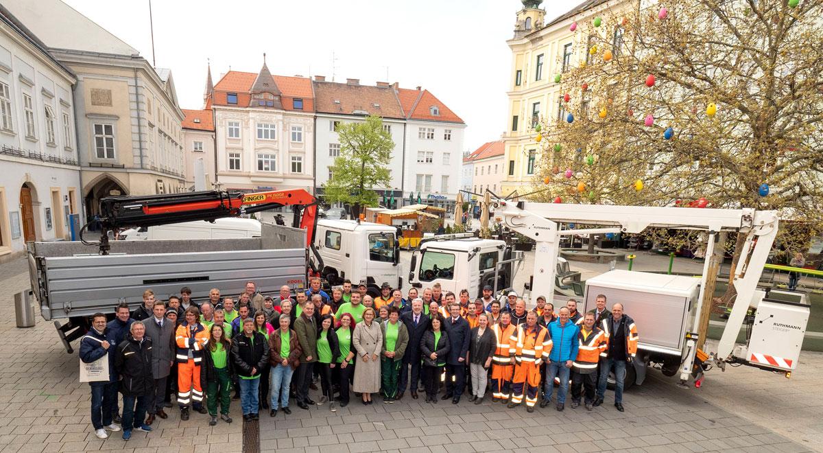 Dankesempfang / Foto: Stadt Wiener Neustadt/Weller