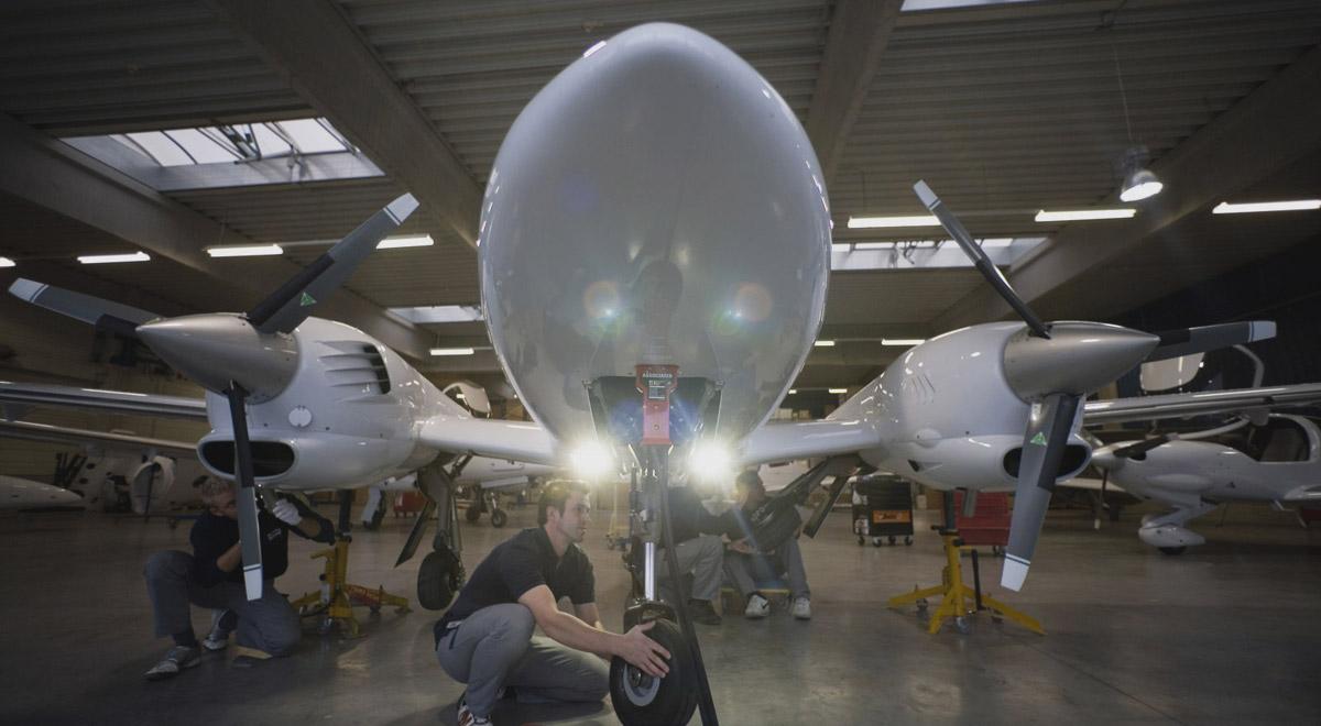 Diamond Aircraft Fertigung / Foto: Diamond Aircraft Industries