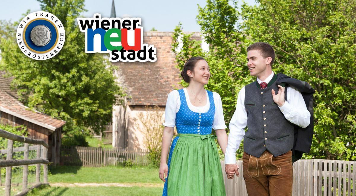 Gemeinsam in Tracht / Foto: Volkskultur Niederösterreich/Lechner