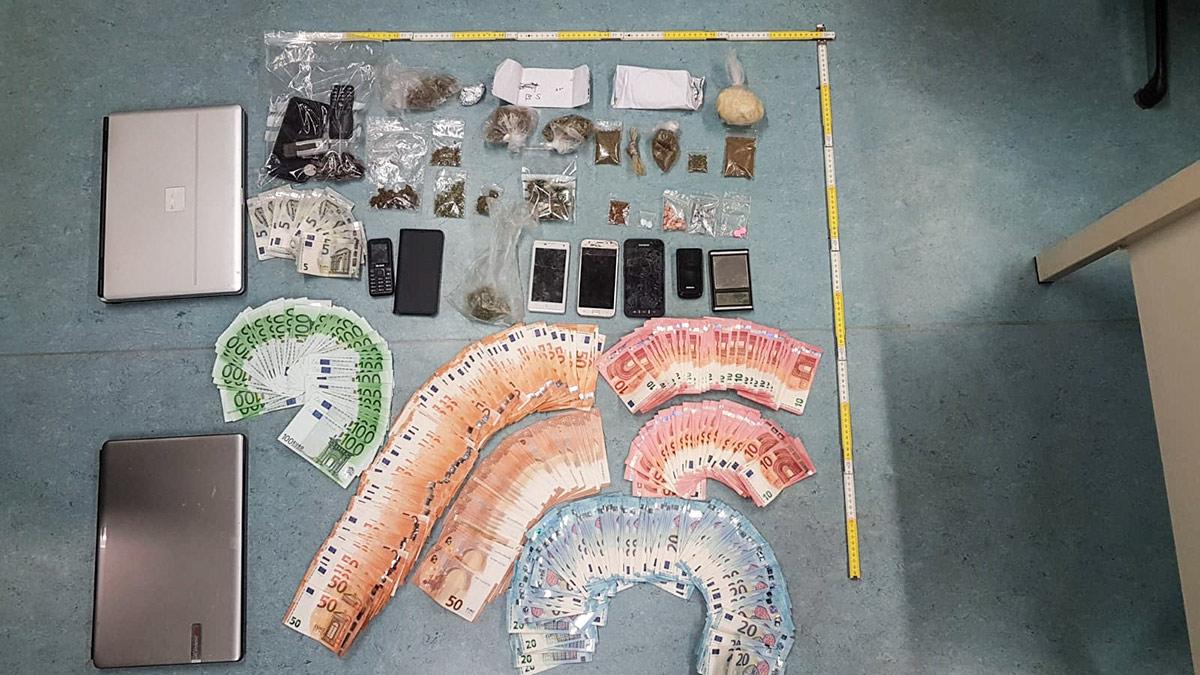 Drogendealer - sichergestelltes Material / Foto: LPD NÖ