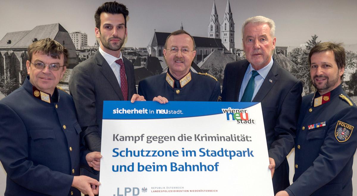 Schutzzonen gegen Drogenkriminalität / Foto: Wiener Neustadt/Pürer
