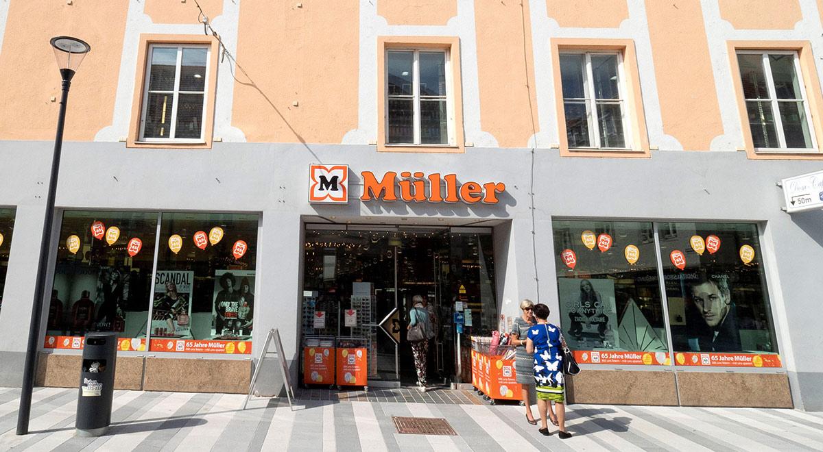 Drogerie Müller / Foto: Wiener Neustadt/Weller