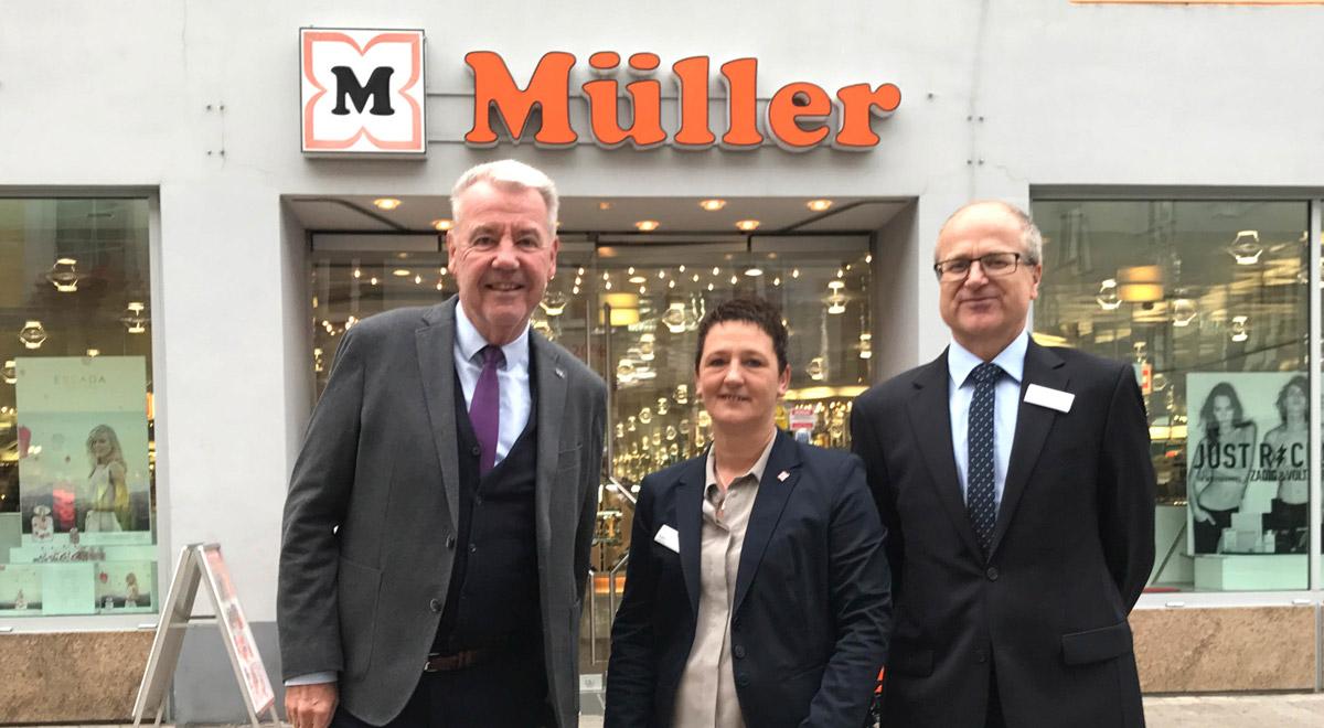 Drogerie Müller / Foto: Stadt Wiener Neustadt