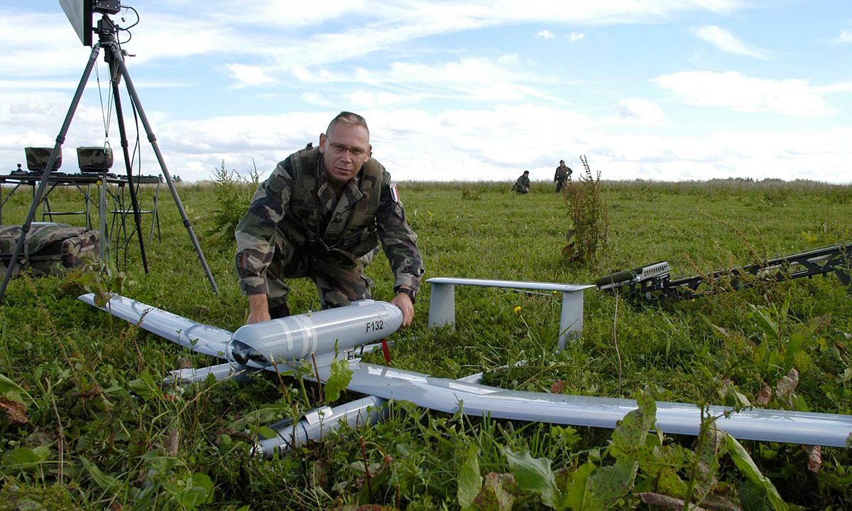 "Bundesheer-Drohne ""Tracker"" / Foto: Foto: Bundesheer/Sigi Schw?rzler"