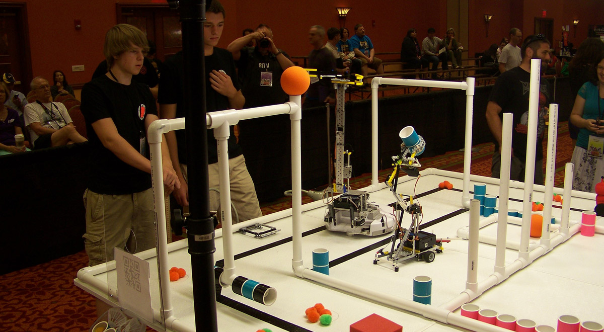 ECER Robotik-EM / Foto: Botguy Robot auf Flickr (CC BY-NC-ND 2.0)