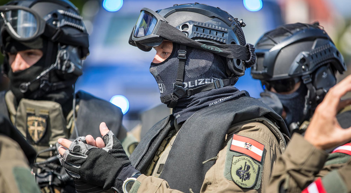 Einsatzkommando Cobra / Foto: ©  BMI/Gerd Pachauer