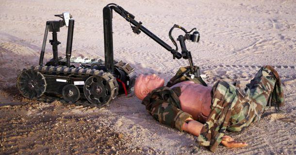 Foto: Militärroboter