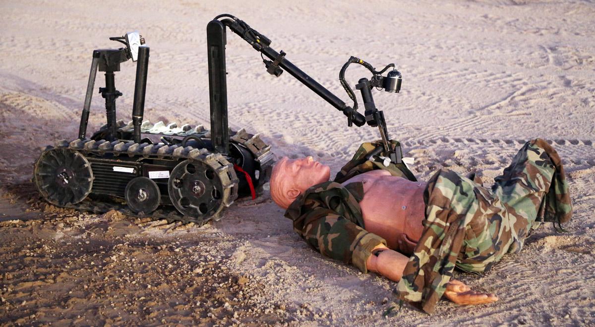 Militärroboter / Foto:  U.S. Army Alaska via Flickr (CC BY 2.0)
