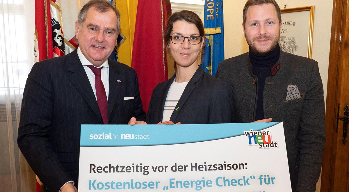 Energie-Check für PlusCard Inhaber / Foto: Stadt Wiener Neustadt/Weller