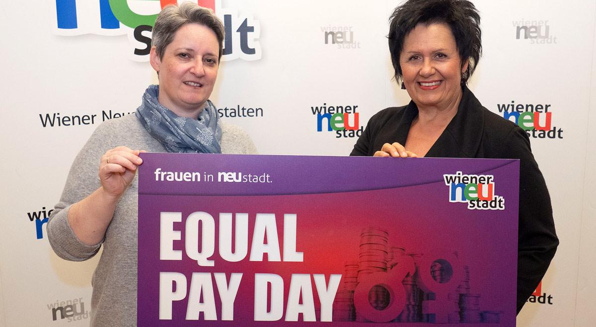 Equal-Pay-Day / Foto: Stadt Wiener Neustadt/Weller