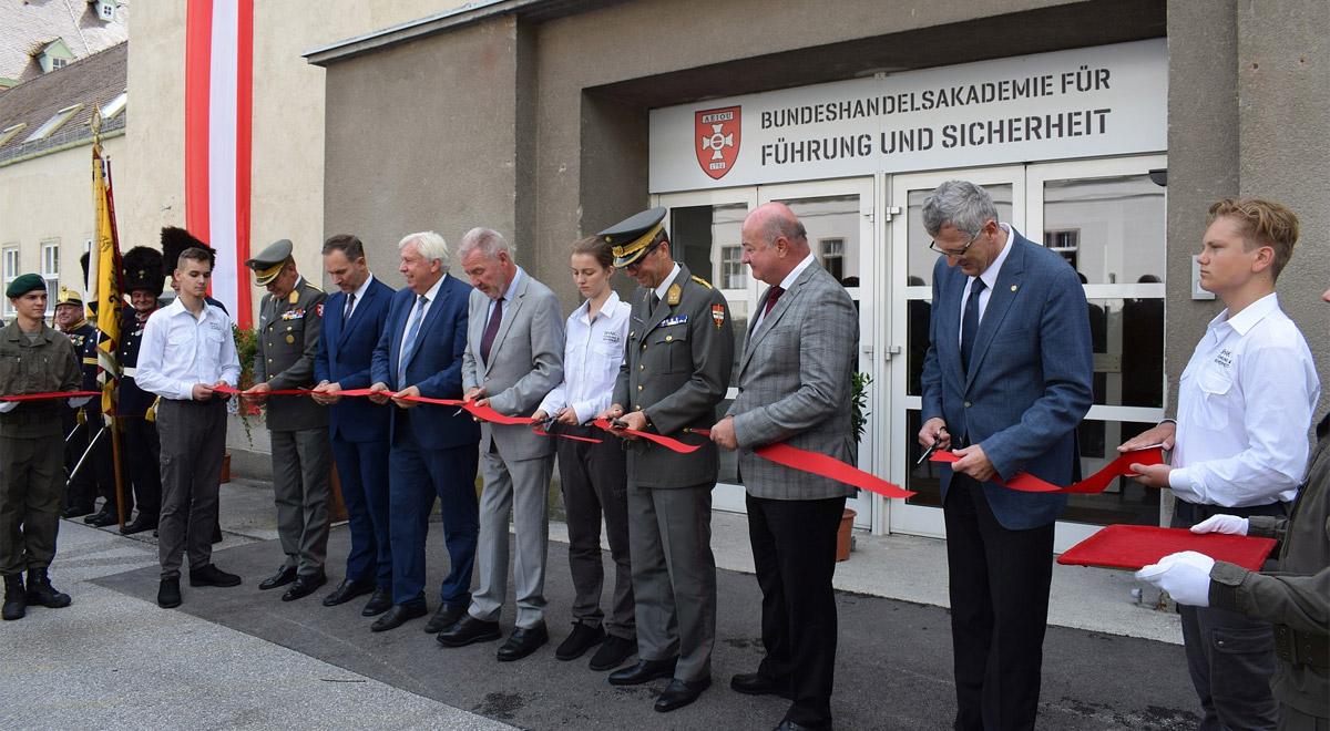 Eröffnung Sicherheitsschule / Foto: © Claus/TherMilAk