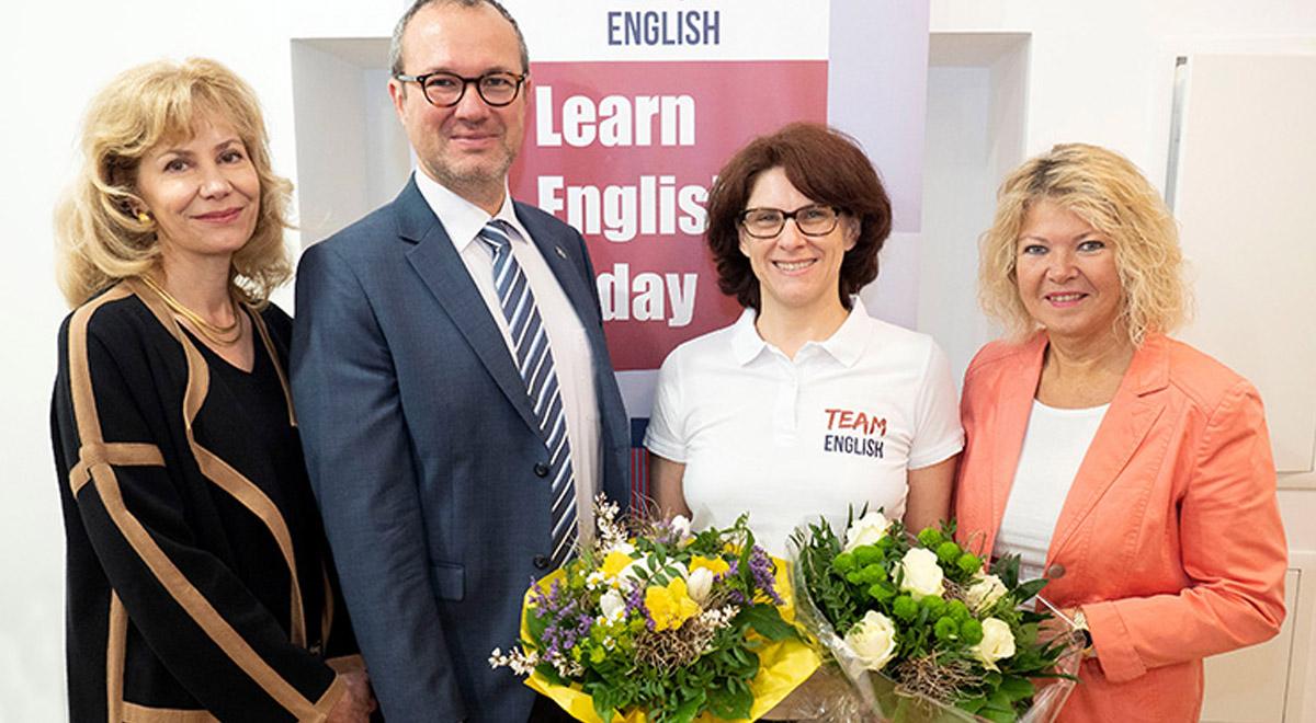 Eröffnung Team Englsh / Foto: Stadt Wiener Neustadt/Weller