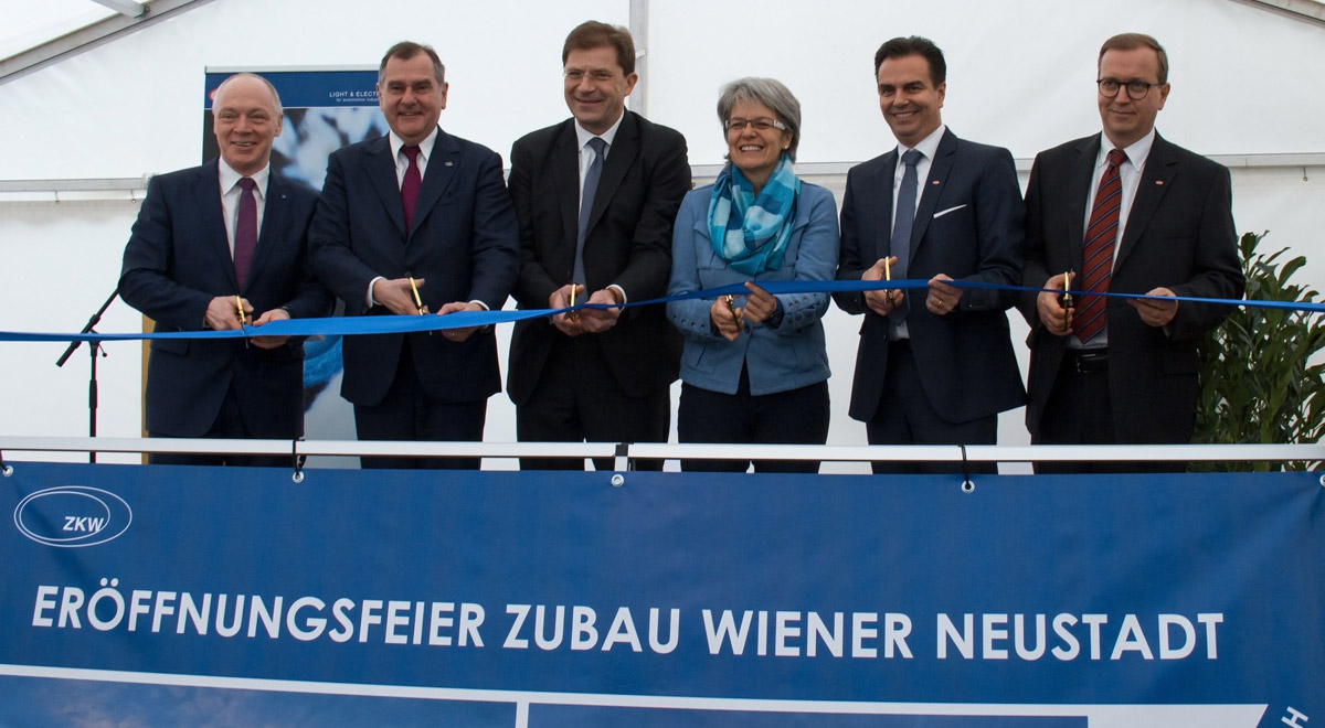 Eröffnung ZKW-Zubau / Foto: ©ZKW