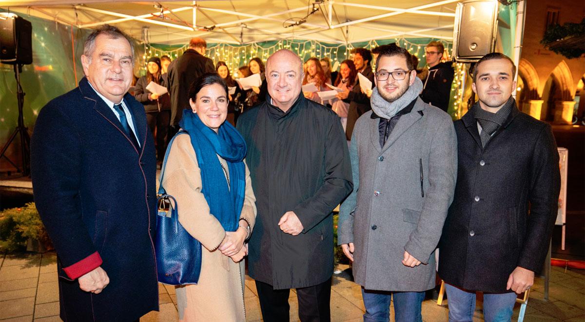 Eröffnung Advent 2019 / Foto: ©Harald Wrede