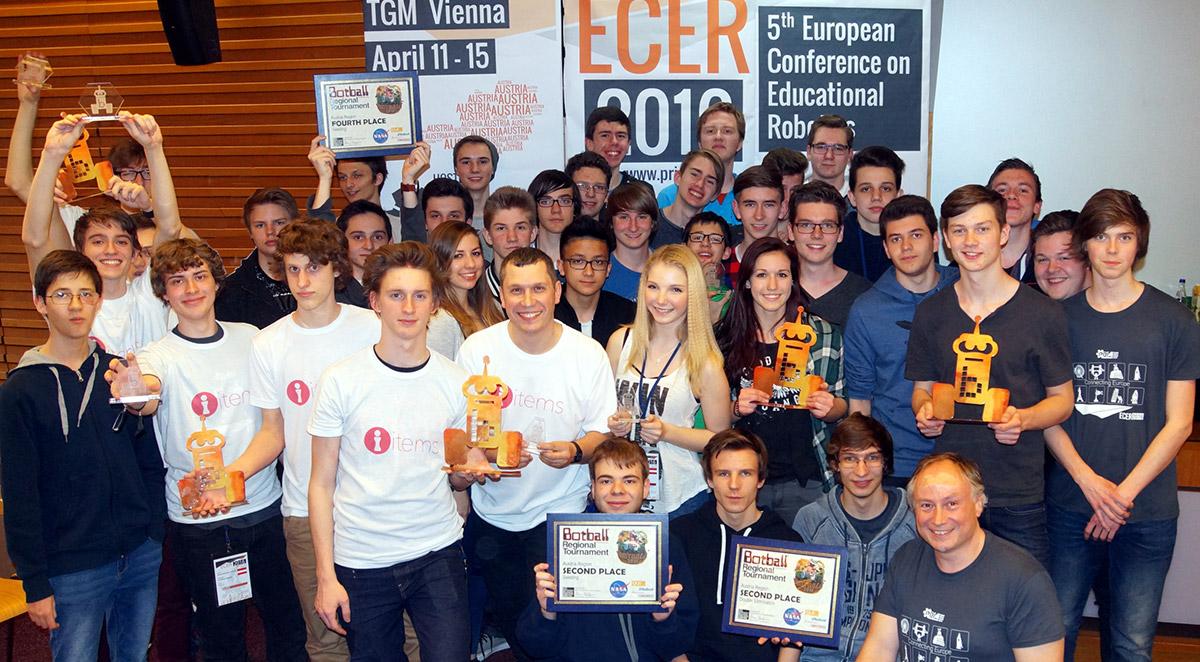 Europameister Botball 2016 / Foto: HTL Wiener Neustadt
