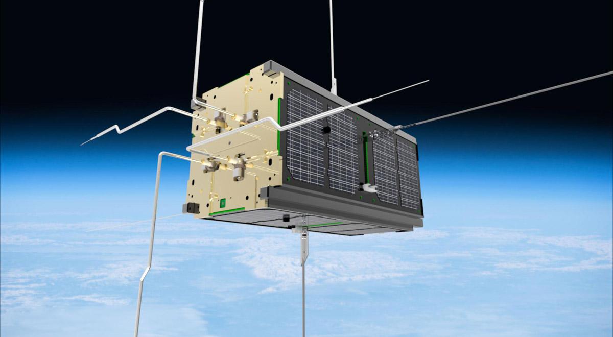 Nanosatellit PEGASUS / Foto: © FH Wiener Neustadt