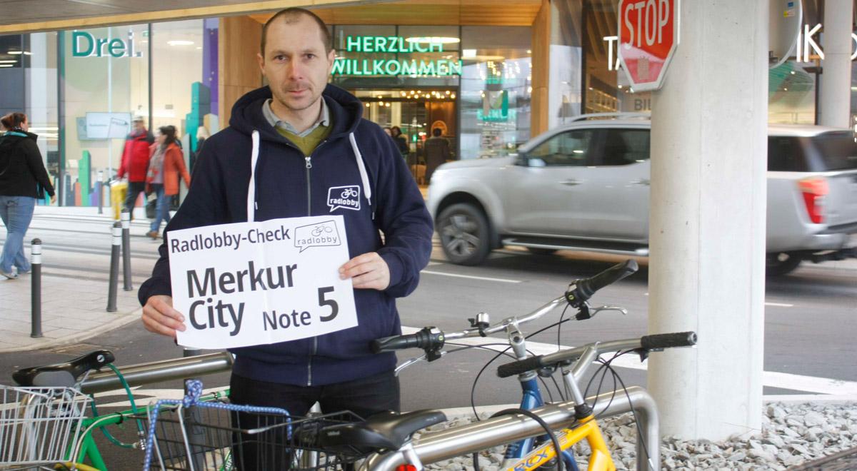 Fahrrad-Check Merkurcity / Foto: Radlobby WN