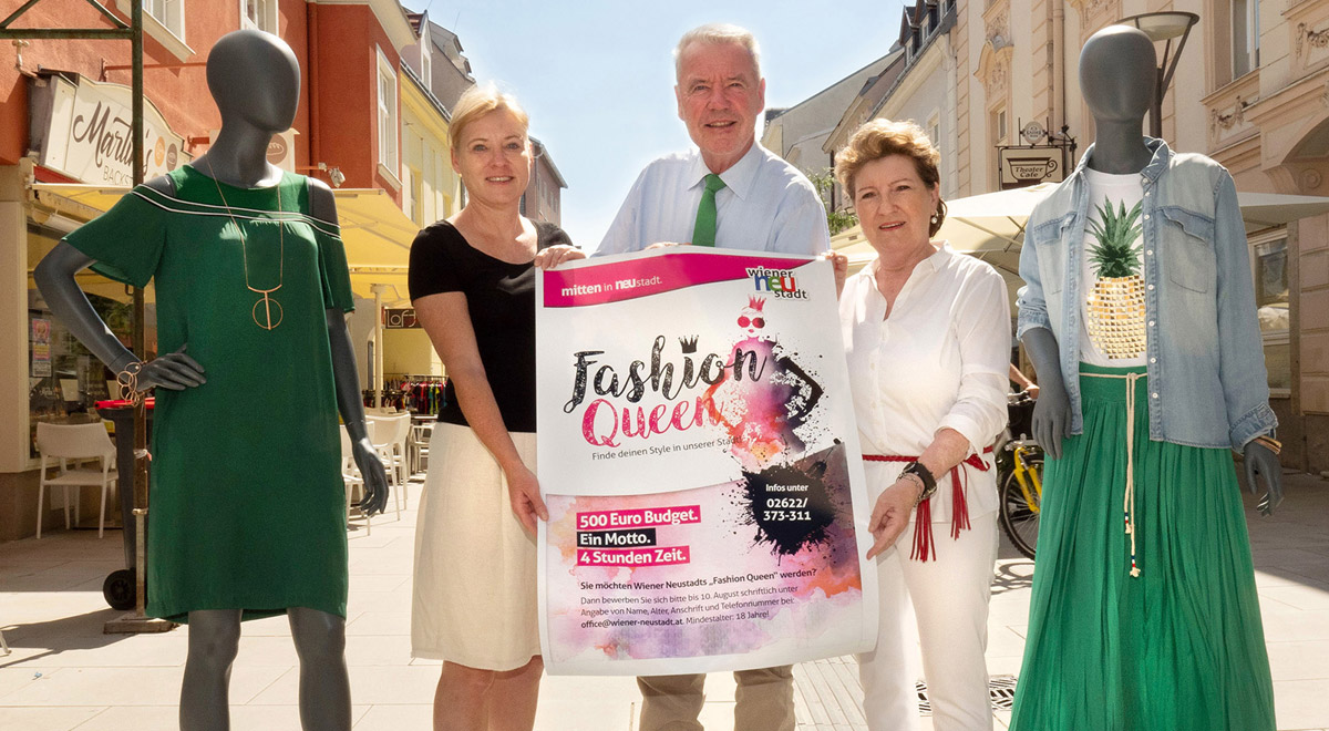 Fashion Queen 2018 / Foto: Wiener Neustadt/Weller