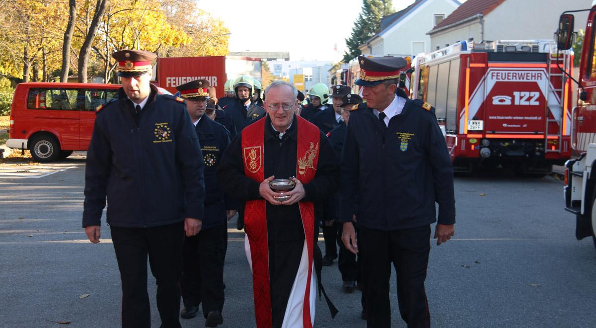 Feuerwehr-Delegation / Foto: Presseteam der Feuerwehr Wiener Neustadt