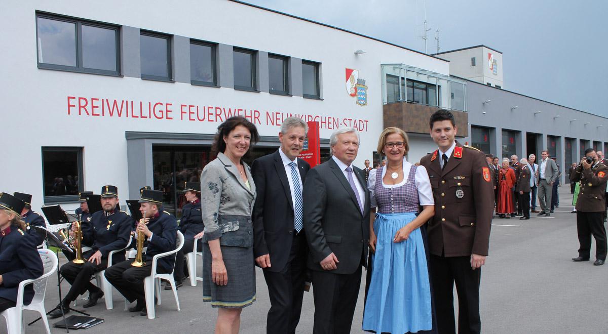 Eröffnung Feuerwehrhaus Neunkirchen-Stadt / Foto: Stadtgemeinde Neunkirchen