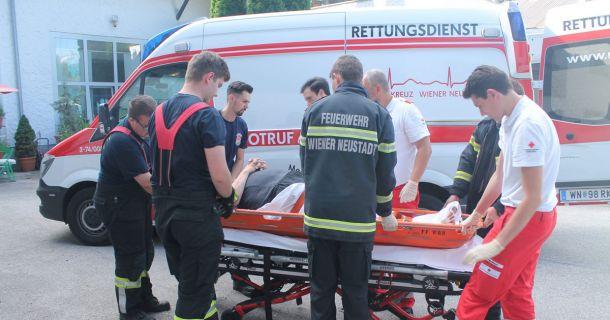Foto: Menschenrettung Wiener Neustadt