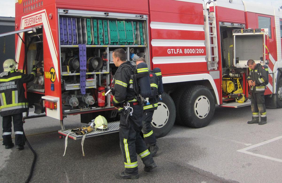 Feuerwehr Wiener Neustadt / Foto: Presseteam Feuerwehr Wr. Neustadt
